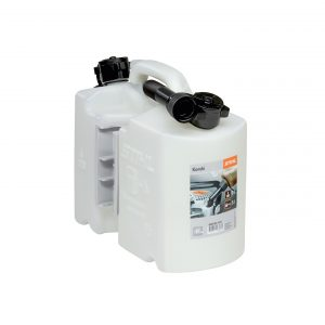 Combination canister, transparent